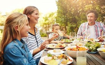 Family Meals Establish Lifetime Nutrition Habits