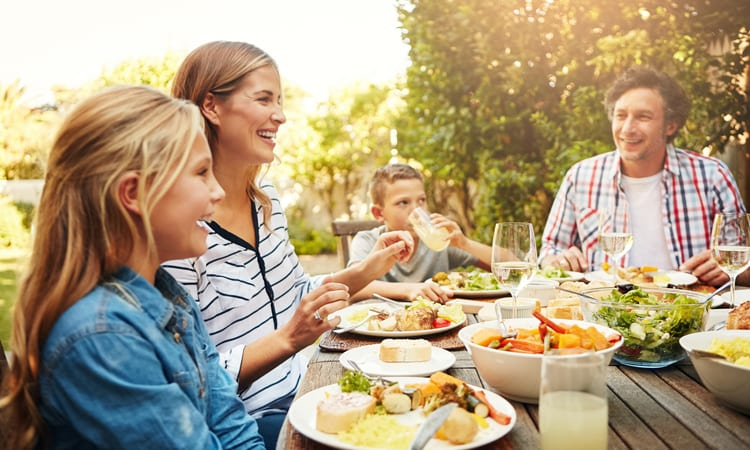 Family Meals Establish Lifetime Nutrition Habits